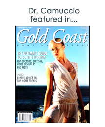 Dr. Camuccio featured in Gold Coast Magazine
